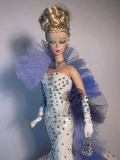 Barbie Water Essence Artist Creations Italian O.O.A.K. Fashion Dolls by Alessandro Gatti e Giuseppe De Bellis