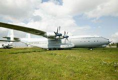 Antonov An-22 'Cock', world's largest propeller-driven cargo plane