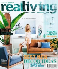 Real Living Australia November 2015 edition - Read the digital edition by Magzter on your iPad, iPhone, Android, Tablet Devices, Windows 8, PC, Mac and the Web.