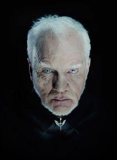 Malcolm McDowell | by Nadav Kander