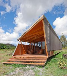 Exterior Cabana in Easter Island