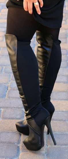 Steve Madden Over The Knee Boots - Shoes and beauty