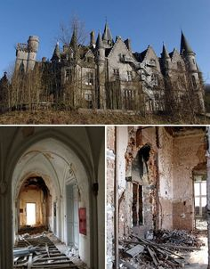 Abandoned Homes Chateau de Noisy Belgim