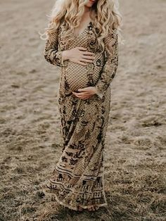 Maternity Sexy v-neck printed dress – streettide Maternity Dresses For Photoshoot, Order Checks, Wrap Dress, Bodycon Dress, V Neck, Printed, Sexy, How To Wear, Color