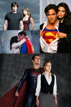 Lois And Clark Through The Ages