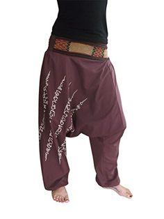 bonzaai Harem Pants Aladdin Pants Baggy Harem Pants Trousers GOA Men Women Baggy Harem Hippie Rope Plaid Pants Onesize - alternative clothing - Boho Style - Hae Taew berry Bonzaai http://www.amazon.co.uk/dp/B00YADB5CU/ref=cm_sw_r_pi_dp_mqj0wb01FA4SD