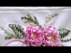 Mulher.com 13/03/2015 Valéria Soares - Pontos de bordados com linhas e fitas Parte 2/2 - YouTube