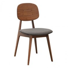 This Bunny Fabric Seat Chair from Curio will spice up your interior with its Scandinavian-chic appeal and delightful aura. Also available in store Bunny Chair. Crafted from choices of American Oak and American Walnut for strength and sturdiness Natural f