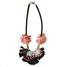 Suede Tassle Necklace by Elvira Sazesh