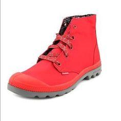 Sale‼️ Palladiium red shoes 7 1/2 Palladium Shoes