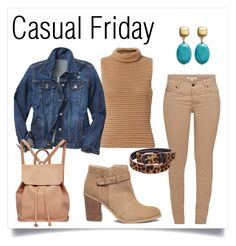 """""""Casual Friday"""" by norma-licata on Polyvore featuring Exclusive for Intermix, Gap, Urban Originals, Barbour, Sole Society, Kenneth Jay Lane and Maje"""
