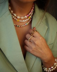 Summer Necklace, Summer Jewelry, Diy Necklace, Necklace Designs, Fall Jewelry, Handmade Wire Jewelry, Beaded Jewelry, Jewellery, Diy Bracelets Easy