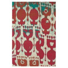 Feizy Tangier Red/Brown Area Rug Rug Size: 4' x 6'