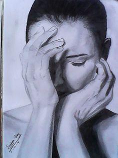 sketsa wajah
