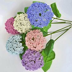 Seed Bead Flowers, French Beaded Flowers, Lilac Flowers, Hydrangea Flower, Spring Flowers, Artificial Hydrangeas, Wedding Anniversary Presents, Beading