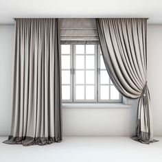 Buy Two-color light curtains, Roman blind by tanya_s on Two-tone Roman, straight and curtains with pick-up brush in beige and brown tones and a window with layouts. Two Tone Curtains, Lounge Curtains, Fancy Curtains, Roman Curtains, Grey Curtains, Modern Curtains, Colorful Curtains, Roman Blinds, Curtains With Blinds