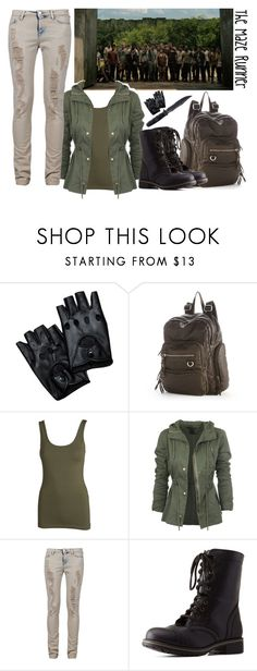 """The Maze Runner"" by pumpkinpie432 ❤ liked on Polyvore featuring Handle, Mudd, Pieces, IRO, Charlotte Russe and Kimberlylovesthis"