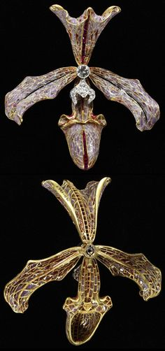Hair ornament, made by Philippe Wolfers, 1905-7. Museum no. M.11-1962. © Victoria & Albert Museum, London