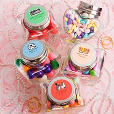 Candy wedding favours