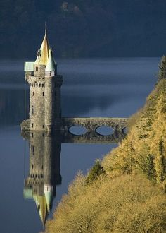 Princess tower. Love the reflection.