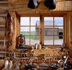rustic architecture & design photography, ridgway, colorado, double shoe cattle company