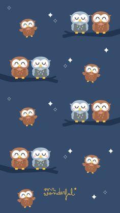 382 best owl wallpaper images in 2019 Owl Wallpaper Iphone, Cute Owls Wallpaper, Wallpaper Wa, Kawaii Wallpaper, Tumblr Wallpaper, Animal Wallpaper, Cartoon Wallpaper, Pattern Wallpaper, Galaxy Wallpaper