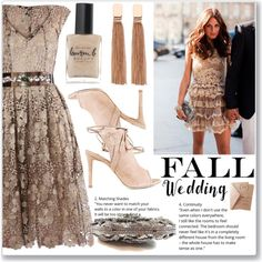 How To Wear Fall wedding outfit idea Lace dress&Crystal clutch Outfit Idea 2017 - Fashion Trends Ready To Wear For Plus Size, Curvy Women Over 20, 30, 40, 50
