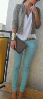 Skinny Jeans with blazer