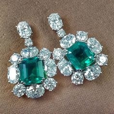 Asscher Green Dangle Earrings Butterfly Fastening Solid 925 Sterling Silver in Jewelry & Watches, Engagement & Wedding, Engagement Rings, Gemstone Emerald Earrings, Emerald Jewelry, Women's Earrings, Tanzanite Necklace, Emerald Gemstone, Emerald Cut, Designer Earrings, Diamond Cuts, Diamond Ice