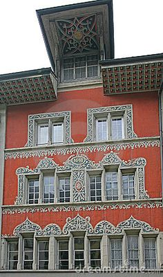 Old Swiss House 9 stock photo. Image of medieval, swiss - 1981236 Swiss House, Switzerland, Medieval, Dreams, Stock Photos, Mansions, Architecture, House Styles, Building