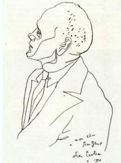"""""""To my dear Jean Genet - Jean Cocteau * 1952"""""""