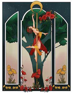 A pole dance poster art nouveau way Studio Pole Dance, Dance Wallpaper, Pole Dancing Fitness, Pole Fitness, Art Deco Cards, Dancing Drawings, Pole Art, Art Nouveau Poster, Art Deco Illustration