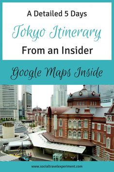 A detailed 5 day Tokyo itinerary from an insider. 5 days in Tokyo packed with Japanese culture, food, traditions, history and modern Japan. With tips on accommodations and transportation in Tokyo. Checklist and downloadable Google Maps with all activities inside. #TokyoTravel #JapanTravel #TravelItinerary