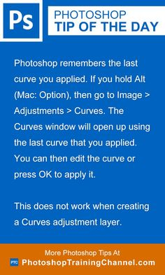 Photoshop remembers the last curve you applied. If you hold Alt (Mac: Option), then go to Image > Adjustments > Curves, the Curves window will open up using the last curve that you applied. You can then edit the curve or press OK to apply it. This does not work when creating a Curves adjustment layer.