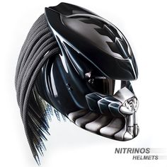 There's a Russian company that makes cat motorcycle helmets. Source They also make a Predator helmet, which I'm a little too excited. Cool Bike Helmets, Custom Motorcycle Helmets, Motorcycle Accessories, Bicycle Helmet, Custom Motorcycles, Mv Agusta Dragster, Predator Helmet, Airsoft Mask, Sports Helmet
