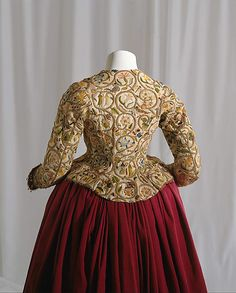 Polychrome Embroidered Jacket, circa 1616