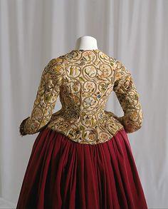 Jacket 1616 British Linen metal and silk