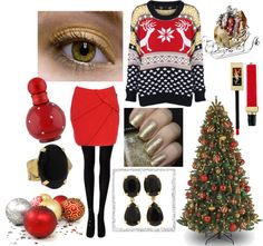 """""""Just Hear Those Sleigh Bells Jingling.."""" by the-j-dawg on Polyvore"""