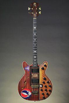 Phil Lesh's 'Big Brown' Alembic bass