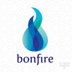 A bonfire in different similar nuances. ( warm, hot, flames, fire, burn, burning, heat, blue, spicy, spices, spice, stove, fireplace, energy, power, electricity, cool, bright, launch )