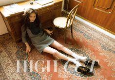 f(x) Krystal in High Cut Vol. 142 Look 3