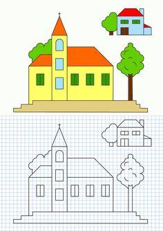 cornicette a quadretti di matematica - Cerca con Google
