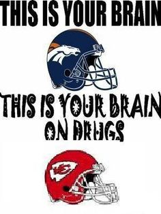 That's the Raiders for ya. Raiders have never been competition for the Broncos! Broncos Gear, Nfl Broncos, Denver Broncos Football, Raiders Football, Football Baby, Sport Football, Nfl Memes, Football Memes, Football Season