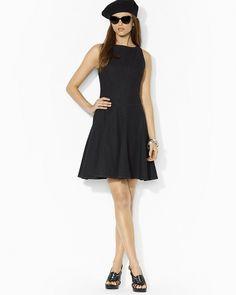 Lauren Ralph Lauren Fit & Flare Dress on shopstyle.com