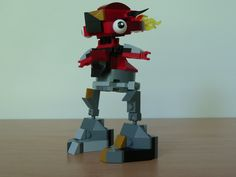 LEGO MIXELS FLAIN SEISMO MIX instructions video with LEGO 41500 and LEGO 41504 Mixels Serie 1