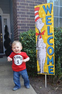 The Adventures of E Squared: Cat in the Hat First Birthday