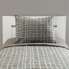2-Piece Comforter set, Gray, 39'', 54''