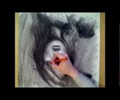 Portrait  Drawn Upside Down - Time-lapse - HD