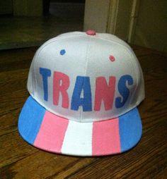 4ef0d775442 Transgender Pride Snapback Hat LGBTQ+ Trans Man Trans Woman Trans Boy Trans  Girl Nonbinary Gender Pa