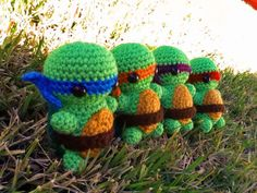 Leonardo Michelangelo Donatello OR Raphael TMNT by CraftedCuteness, $32.00